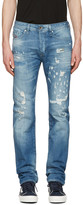 Diesel Blue Buster Destryoed Jeans