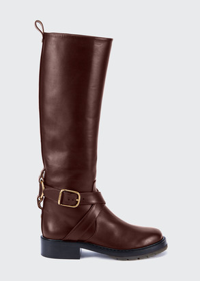 Chloé Diane Tall Biker Riding Boots