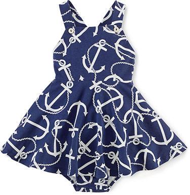 Ralph Lauren Baby Girls Sleeveless Dress