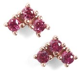 Bea Yuk Mui Women's Anna Sheffield 'Bea' Ruby Arrow Stud Earrings