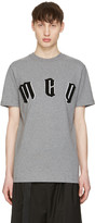 McQ by Alexander McQueen Grey Logo T-Shirt
