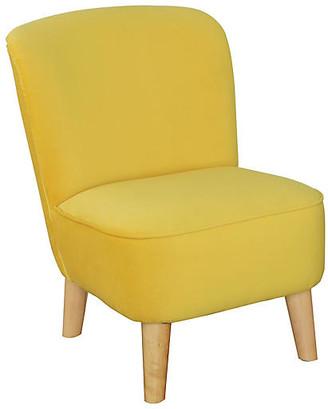 One Kings Lane June Kids' Chair - Marigold