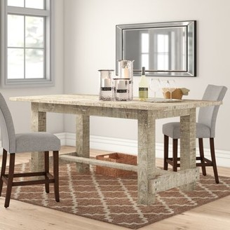 Three Posts Clintwood Solid Wood Dining Table