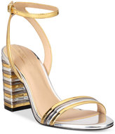 Aldo Izabela Block-Heel Two-Piece Sandals