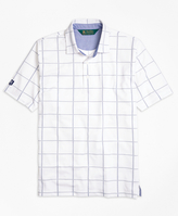Brooks Brothers St. Andrews Links Tattersall Golf Polo Shirt