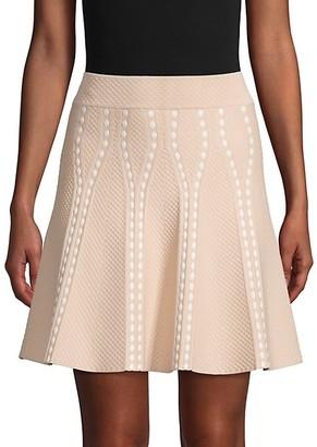 BCBGMAXAZRIA Ingrid A-Line Skirt