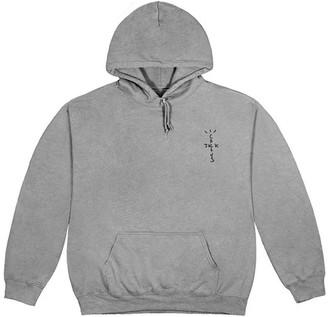 Travis Scott Cj Astro Hoodie Washed Grey
