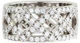 Tiffany & Co. Platinum Diamond Weave Band