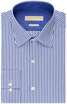 MICHAEL Michael Kors Men's Classic-Fit Non-Iron Bengal-Stripe Dress Shirt