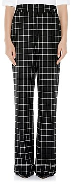 Alice + Olivia Dylan Cuffed Printed Pants