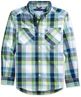 Tommy Hilfiger Basil Plaid Shirt, Little Boys (2-7)