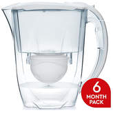Aqua Optima Oria Filter Jug with 3x60 Day Cartridges - White