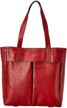 Frye Mindy Pocket Leather Tote