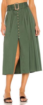 Song of Style Mina Midi Skirt