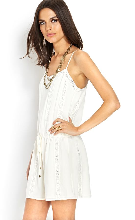 Forever 21 Lace Cami Shift Dress