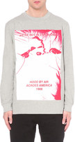 Hood by Air America print cotton top