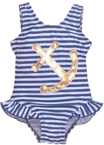Flap Happy Stripe Anchor Swimsuit