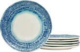 Tabletops Unlimited Tabletops Gallery Set of 6 Round Dinner Plates