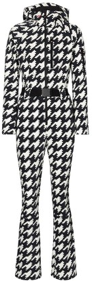 Perfect Moment Star houndstooth ski suit