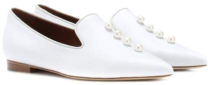 Malone Souliers x Natalia Vodianova Lubov leather loafers