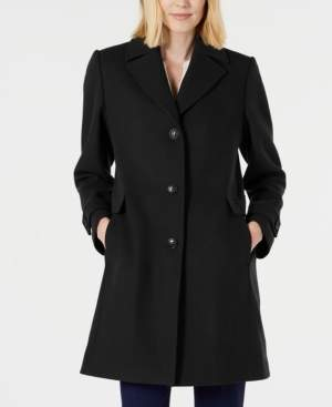Vince Camuto Petite Single-Breasted Walker Coat, Created for Macy's