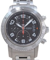 Hermes Clipper Stainless Steel 44mm Mens Watch