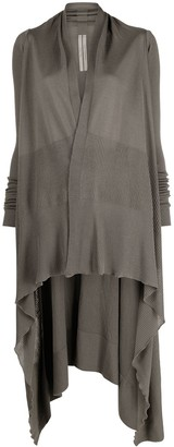 Rick Owens High-Low Hem Cardi-Coat