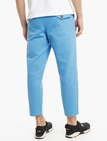 Acne Studios Blue Cropped Angus Trousers