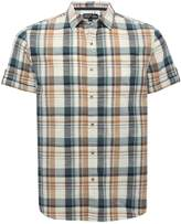 M&Co Checked casual short sleeve shirt