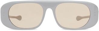 Burberry Blake curved-frame sunglasses