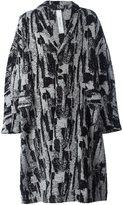 Damir Doma 'Copernico' coat - men - Cotton/Linen/Flax/Acrylic/Virgin Wool - L