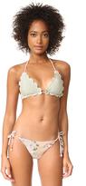 Zimmermann Aerial Crochet Bra Bikini