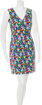 Kate Spade Sleeveless Floral Print Dress