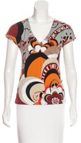 Emilio Pucci Printed Short-Sleeve T-Shirt