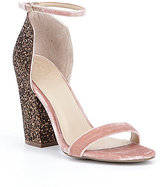 GUESS Bam Bam Velvet Dress Sandals