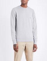 Tommy Hilfiger Logo-embroidered cotton sweatshirt