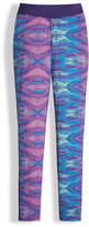 The North Face Printed Pulse Stretch Leggings, Purple, Size XXS-XL