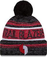 New Era Portland Trail Blazers Hardwood Classics Snow Dayz Knit Hat