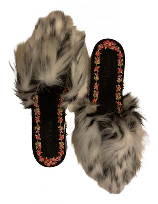 Giambattista Valli X H&m Multicolour Faux fur Flats