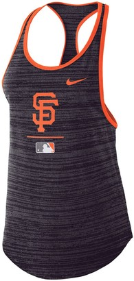 Nike Women's Black San Francisco Giants Authentic Collection Velocity Team Issue Racerback Tank Top