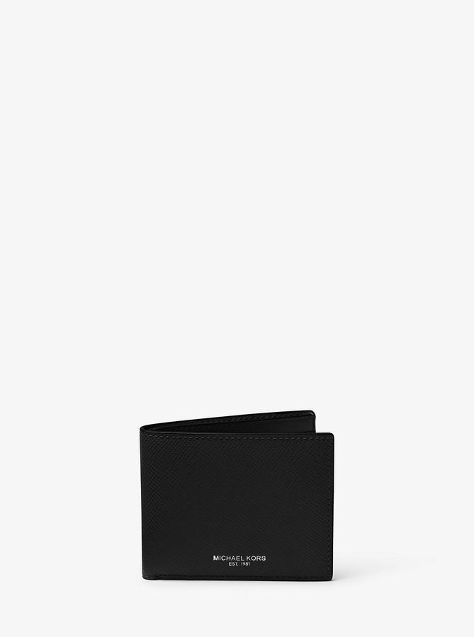 1cf84242473b Michael Kors Black Men s Wallets - ShopStyle