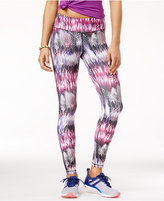 Material Girl Active Juniors' Printed Yoga Leggings, Only at Macy's