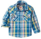 Levi's Levi&s Barstow Western Plaid Shirt (Baby Boys)