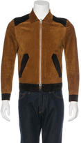 Tom Ford Suede Bomber Jacket