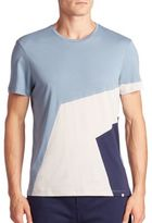 Orlebar Brown Geometric Colorblock Tee