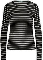 Ralph Lauren Petite Striped Jersey Top