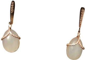 Faberge Navy Silver Earrings
