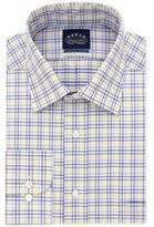 Eagle Men's Big and Tall Classic/Regular Fit Yellow Check Dress Shirt