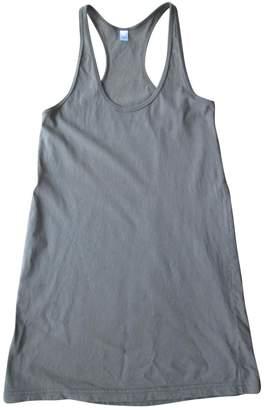 American Apparel Khaki Cotton Dress for Women