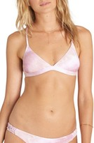 Billabong Women's Today's Vibe Triangle Bikini Top